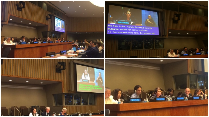 BCNL introduced its activities on the rights of people with disabilities to the UN