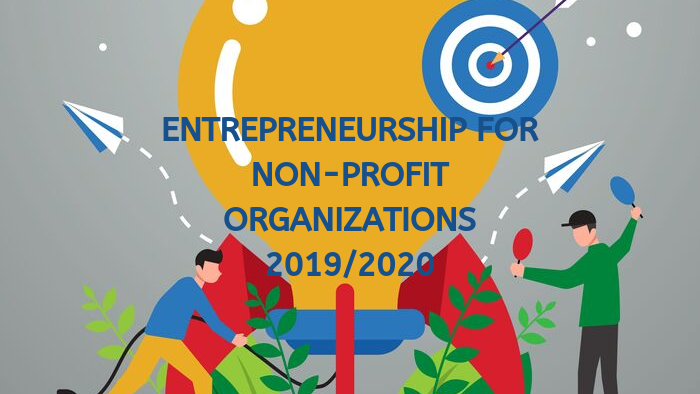 """11 business ideas with a cause are included in the """"Entrepreneurship for Non-Profit Organizations"""" 2019/2020"""