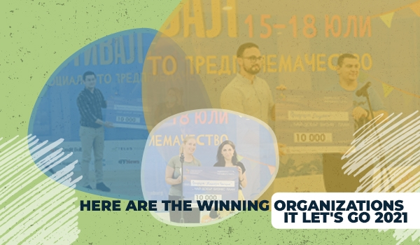 Here are the winning organizations it LET's GO 2021