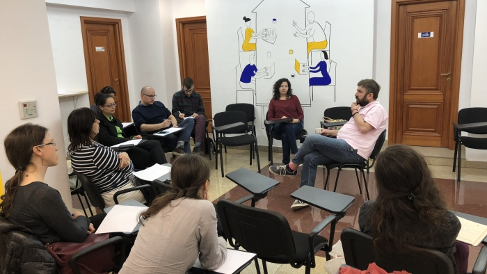 Критиката като път към промяната - писателска работилница с Марин Бодаков