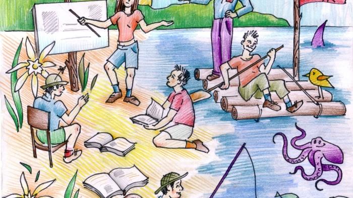 В очакване на новите ученици на Лятното училище за НПО 2018