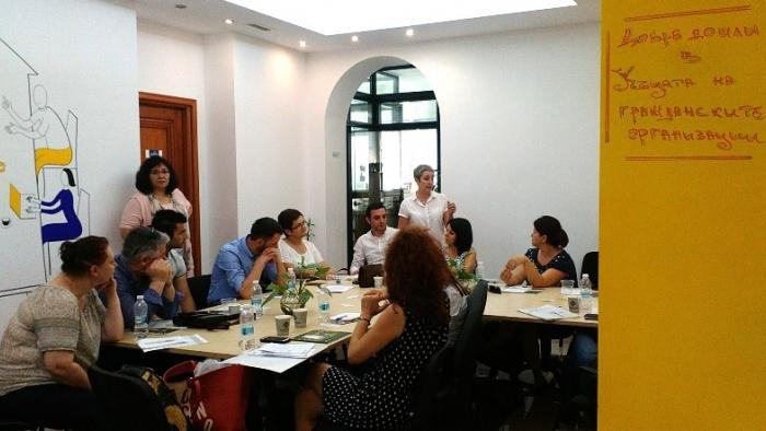 БЦНП представи дейността си пред свои колеги от Албания