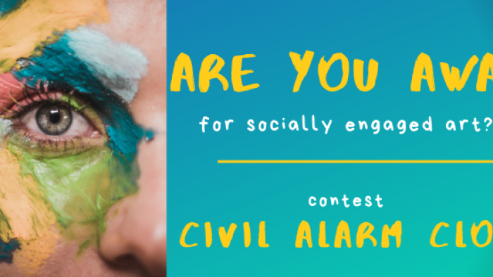 Contest for Socially Engaged Art CIVIL ALARM CLOCK 2019